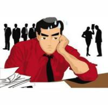 """趣谈""""职场焦虑症""""症状 的男女不同表现"""